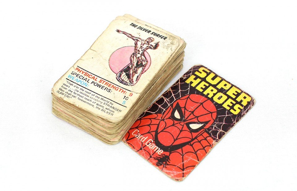 Marvel Super Heroes Card Game