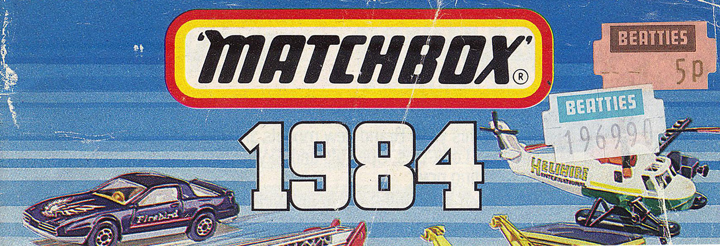 This Matchbox catalogue from 1984 cost 5p and is filled with absolute awesome