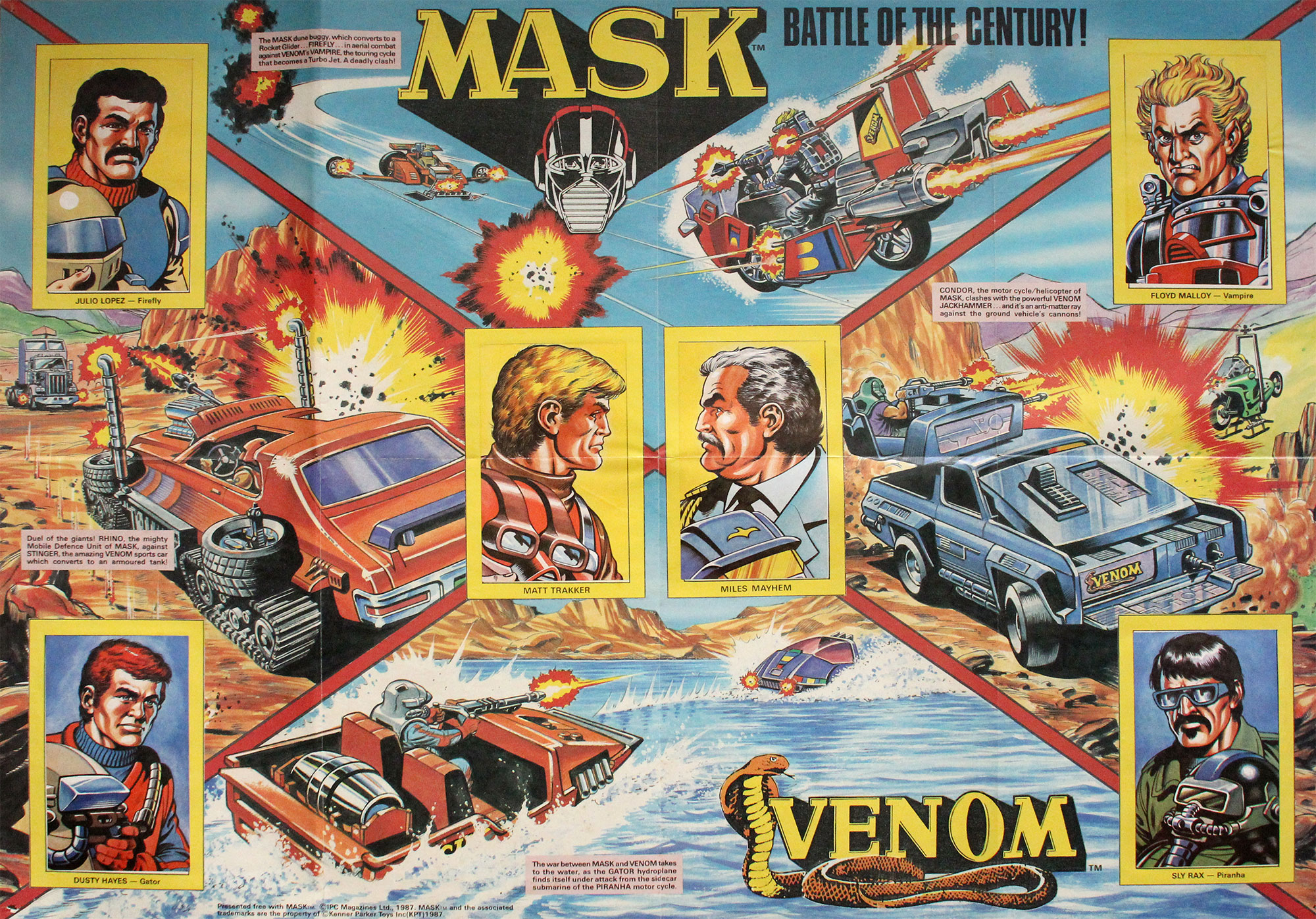 M.A.S.K. poster
