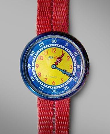 Flik Flak Tell the Time watch